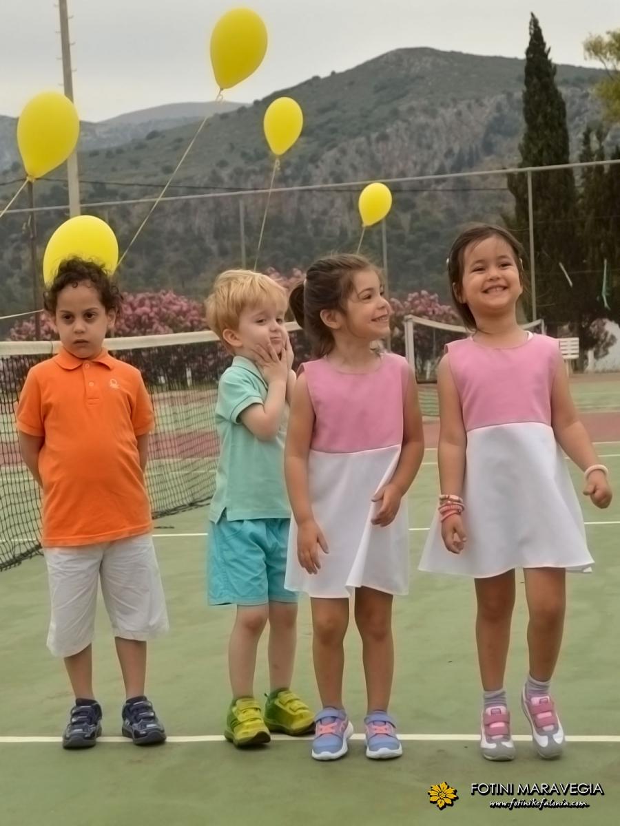 Γιορτή baby tennis